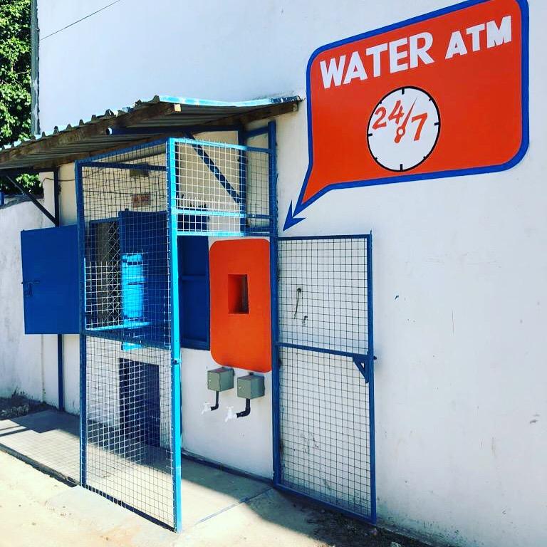 Dutch Water opened a 'Water ATM' in Mtwapa, Kenya