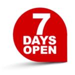 7 days open DWL