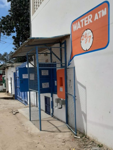 water ATM Dutch Water Mombasa