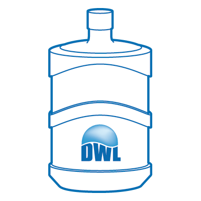 Dwl Water Dispenser Bottle