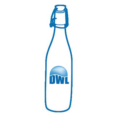 Dwl Water Glass Bottles
